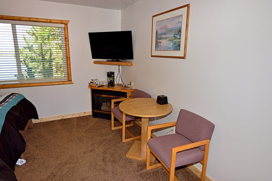 Island Park, ID: hotel room picture