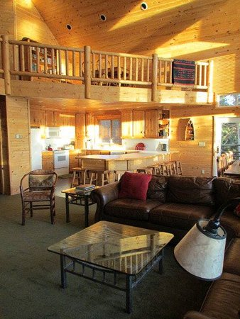Island Park, ID: Picture of luxury cabin