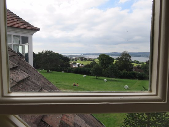 Exmouth, UK: View of the Exe Estuary from the bedroom window