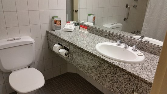 Hotel Grand Chancellor Adelaide on Hindley  Nice size vanity   products weren  39 t bad. Nice size vanity   products weren  39 t bad and there is a hair dryer