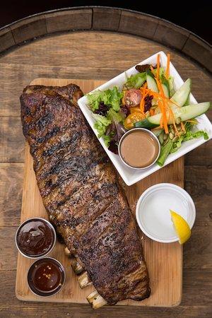 Cranbrook, Canada: Smoked Pork Ribs