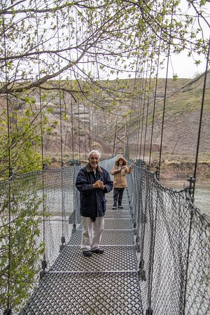 Rosedale Suspension Bridge: Companheiros de viagem