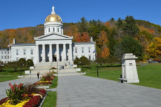 State Capital Montpelier VT Picture of Vermont State House