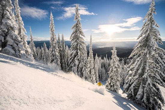 British Columbia, Canada: Skiing At Silver Star