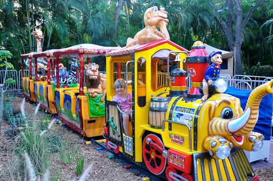 Palm Beach Zoo Conservation Society Choo The Safari Train Is Cool