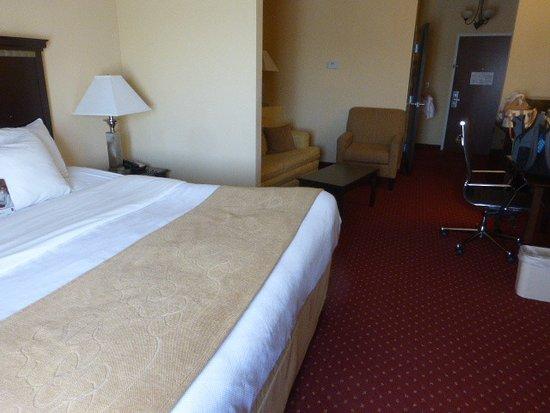 Comfort Suites: Zimmer mit 1 Doppelbett