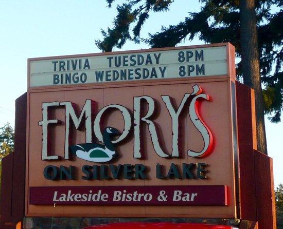 เอเวอเรตต์, วอชิงตัน: Great Lodge Dining on Silver Lake