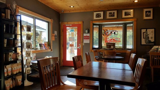 StoneHouse Coffee & Roastery : A view of the restaurant.