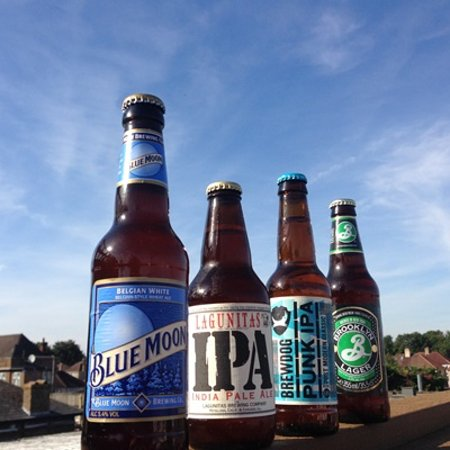 The Eight Bells JD Wetherspoon: Craft Beers available both local and international