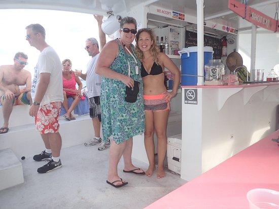 Hamilton, Bermuda: Restless Native Catamaran