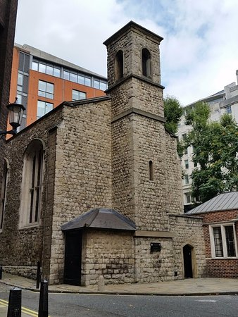 Queen's Chapel of the Savoy: Southern exterior of the chapel