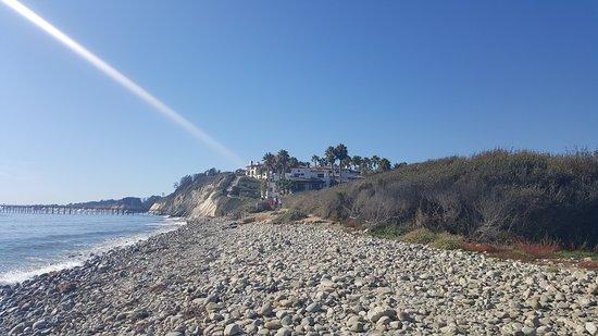 Goleta, CA: From the beach