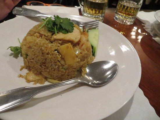 Lotus of Siam: food