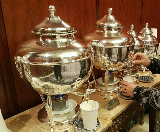 Complimentary Coffee And Tea Picture Of Palace Hotel A Luxury Collection Hotel San Francisco Tripadvisor