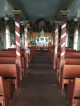 Honaunau, Χαβάη: inside the church