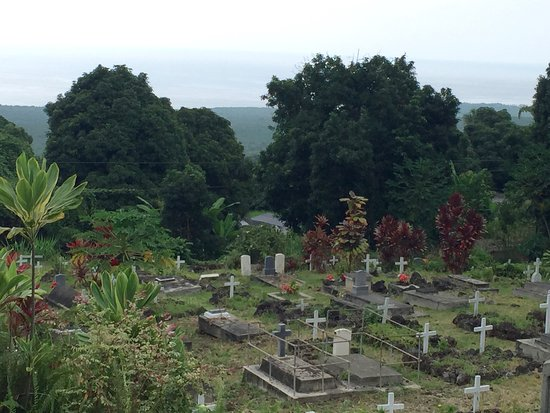 Honaunau, Hawaï : cemetery view