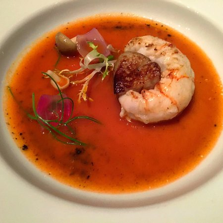 Le Bernardin: They love their langoustine on the East Coast!