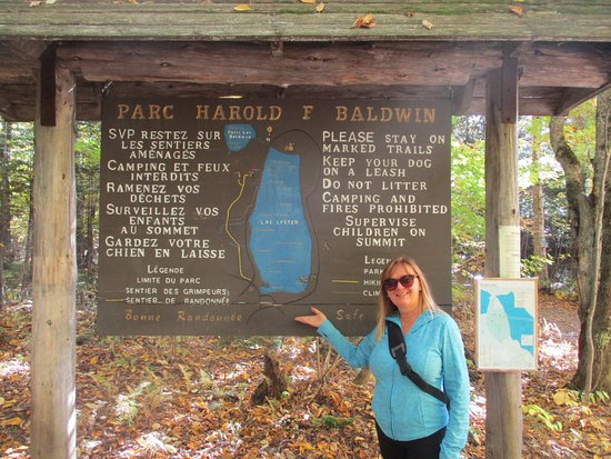 Coaticook, แคนาดา: bienvenue au parc