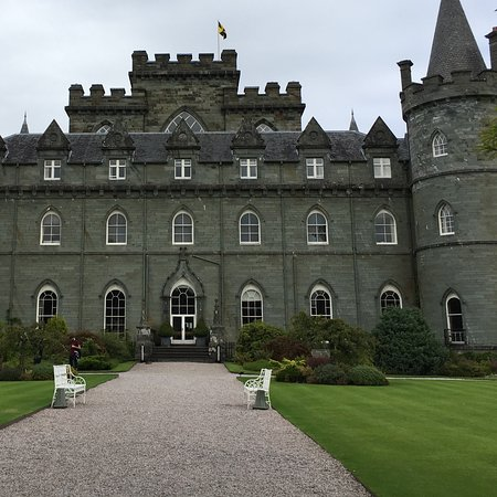Inveraray, UK: Partial view from gardens