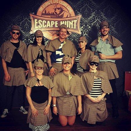 South Fremantle, Australie : Dress-ups after the escape!