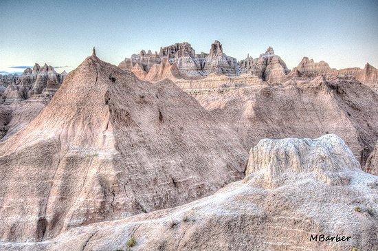 Interior, Южная Дакота: Badlands View
