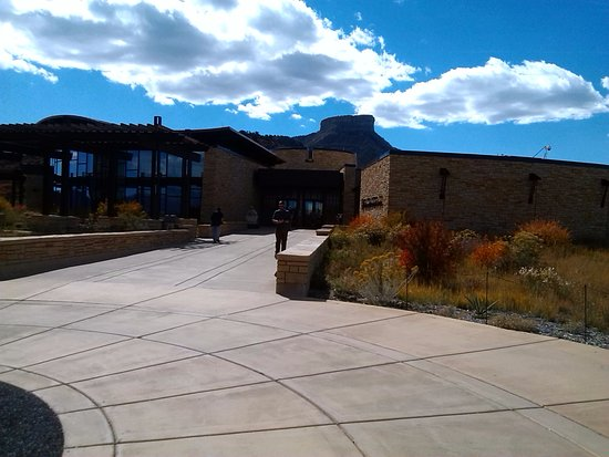 Mancos, CO: visitors center