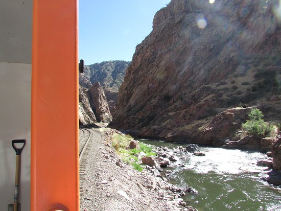 Royal Gorge Route Railroad: View of the Arkansas River
