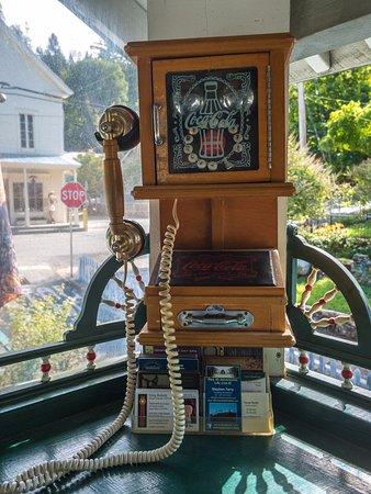 Downieville, Kalifornien: Phone that works!