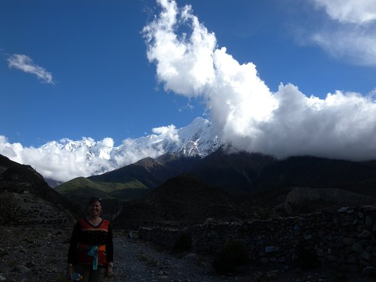 Jomsom, Nepal: Close to the hotel