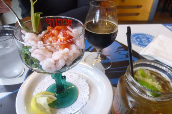 Brewer's on the Bay : shrimp cocktail