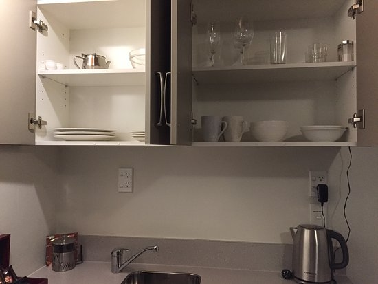 Timaru, New Zealand: Kitchen comes well equipped.