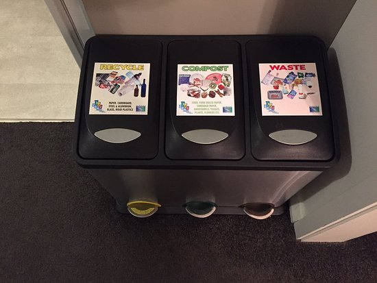 Recycling bins - way to go Aspen and Timaru!