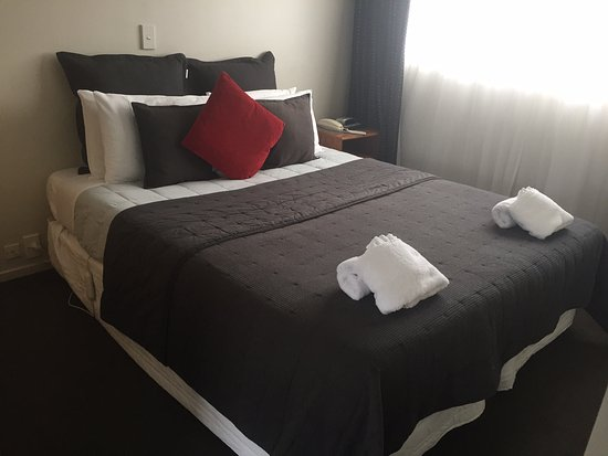 Timaru, Новая Зеландия: The VERY comfy bed.