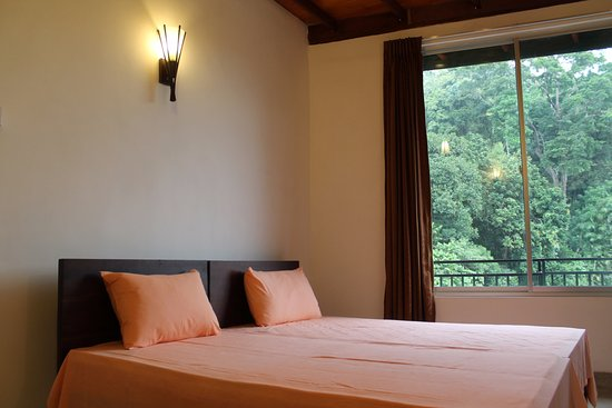 Green Villa Kandy: Standard Double Room overlooking the forest