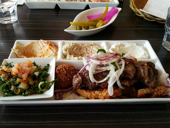 Willoughby, Australia: Tarboosh Mixed Plate - a little of everything