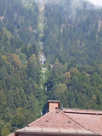 Sattendorf, Österrike: The initial gondola ride