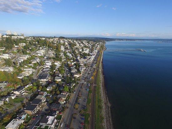 Surrey, Canada: Aerial views