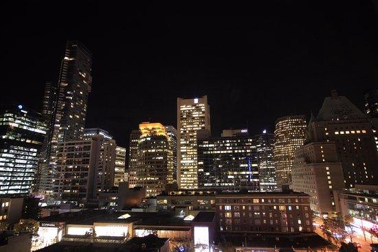 Sutton Place Hotel Vancouver: Blick aus unserem Zimmer