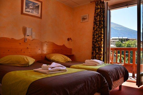 Lanslevillard, Francia: chambre CONFORT +