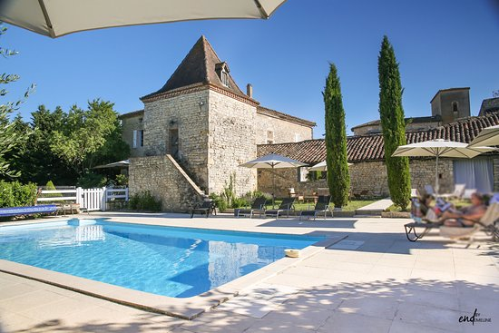 Donnazac, France: Piscine