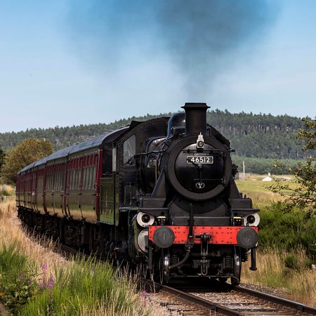 Boat of Garten, UK: Activities - Strathspey Railway