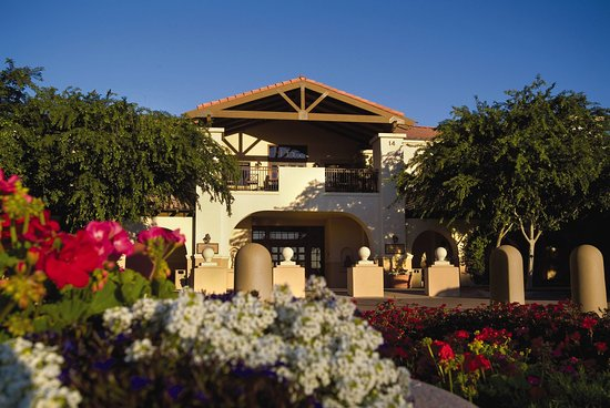 SVCLegacy Golf Resort Clubhouse With Flowers