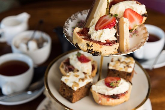 Boat of Garten, UK: Afternoon Tea