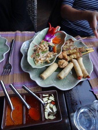 Restaurant Samui-Thai : Vorspeisenplatte