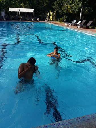 Neet and Clean Swimming Pool - Picture of Amantra Shilpi ...