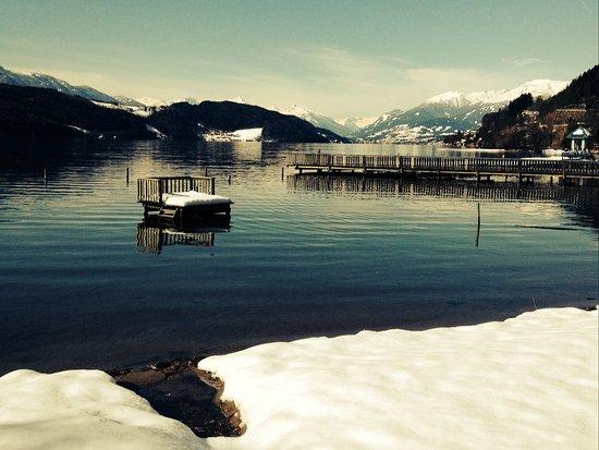 Dobriach, Austria: Winter Umgebung