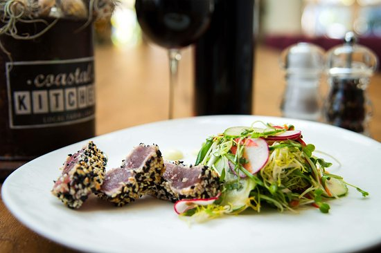 Del Mar, CA: Seared Tuna - Coastal Kitchen
