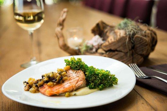 Del Mar, CA: Grilled Salmon - Coastal Kitchen
