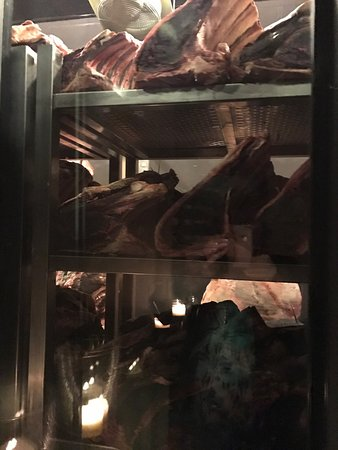 Victoria Park, Australia: aged meat