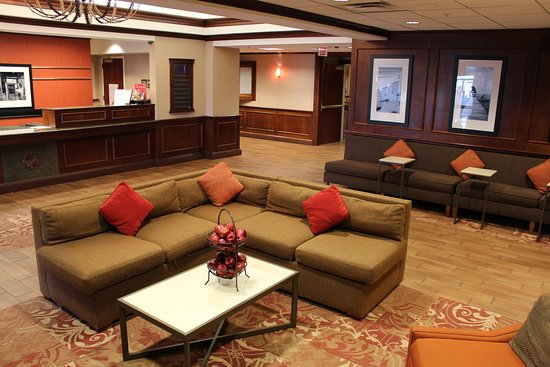 Farmingville, NY: Sofa in Lobby